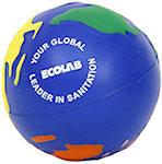 Multicolored Earthball Stress Balls